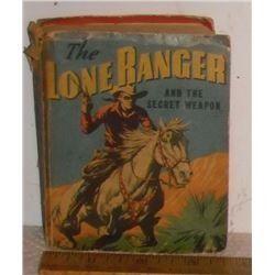Interesting forever ever popular The Lone Ranger 1939 little big book - petit gros livre populaire