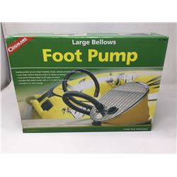 Coghlans Large Bellows Foot Pump