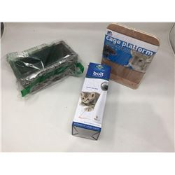 Lot of Miscellaneous Pet Items