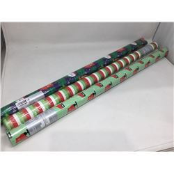 Lot of Christmas Wrapping Paper (3x)