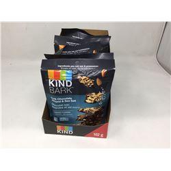 (6 x 0Kind Bark Dark Chocolate Almond & Sea Salt (6 x 102g)