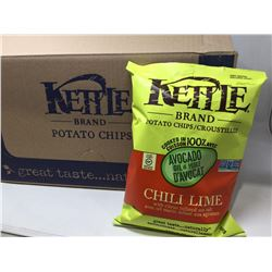 Case of Kettle Chili Lime Potato Chips