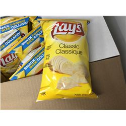 Case of Lays Classic Potato Chips