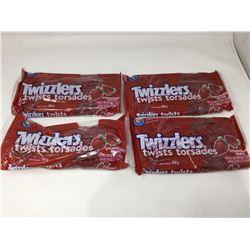 Twizzlers Twists- Strawberry Flavour (4 x 454g)