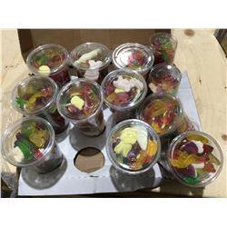 Huer Super Mix Gummy Cups (12 x 400g)