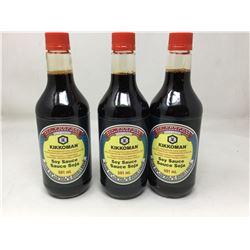 Kikkoman Soy Sauce (3 x 591ml)