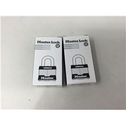 Master Lock Commercial Lock and Key Sets (2ct)