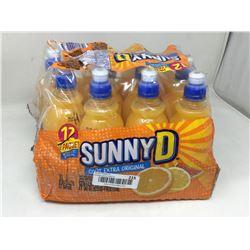 Lot of Sunny D Tangy Original