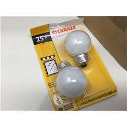 Sylvania Vanity Bulbs (2 x 6)