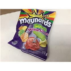 Case of Maynards Sour Wine Gums (12 x 170g)