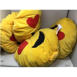 Plush Emoji Pillows (4ct)