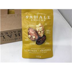 Case of Sahale Snacks- Honey Glazed Mix Almonds (6 x 113g)