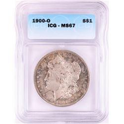 1900-O $1 Morgan Silver Dollar Coin ICG MS67