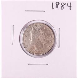 1884 Liberty Head V Nickel Coin