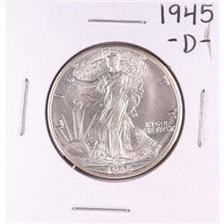1945-D Walking Liberty Half Dollar Coin