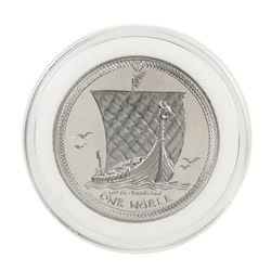 1986 Proof Isle of Man Noble 1 Oz. Platinum Coin