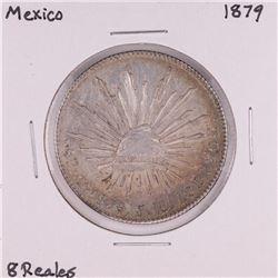 1879 Mexico 8 Reales Silver Coin