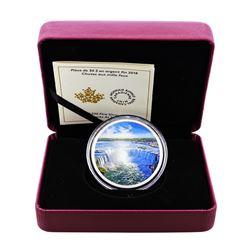 2018 Canada $30 Proof Fireworks at Niagara Falls 2 oz Silver Coin w/box and COA