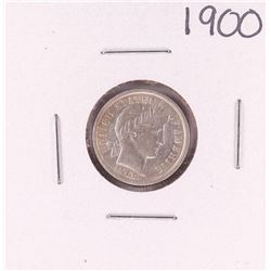 1900 Barber Dime Coin