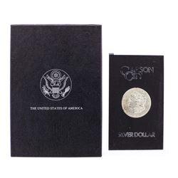 1882-CC $1 Morgan Silver Dollar Coin GSA w/Box