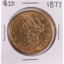 1877 $20 Liberty Head Double Eagle Gold Coin
