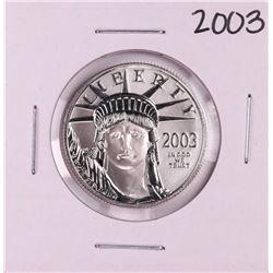 2003 $50 American Platinum Eagle Coin