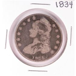 1834 Small Date Capped Bust Half Dollar Coin