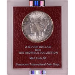 1926-S $1 Peace Silver Dollar Coin Redfield Hoard NGC MS64