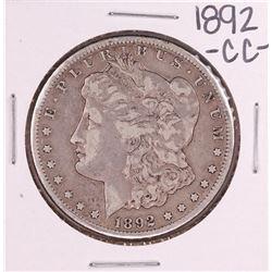 1892-CC $1 Morgan Silver Dollar Coin