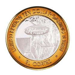 .999 Silver El Cortez Hotel and Casino $10 Limited Edition Gaming Token