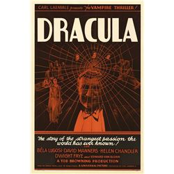 Dracula Hollywood Poster