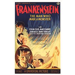 Frankenstein Hollywood Poster