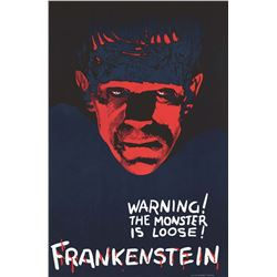Frankenstein - Teaser Hollywood Poster