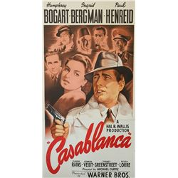 Casablanca Hollywood Poster