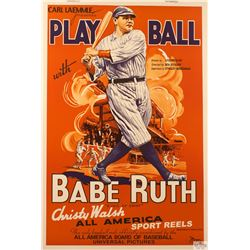 Play Ball Hollywood Poster