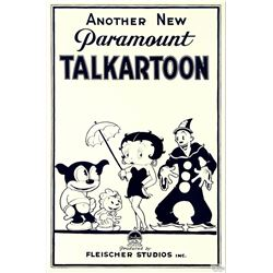 Talkartoon Hollywood Poster