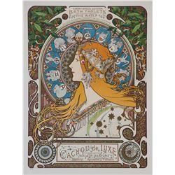 Zodiaque Var. 6 (w/text), Alphonse Mucha Poster