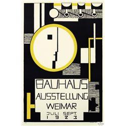 Bauhaus Ausstellung - Profile Poster