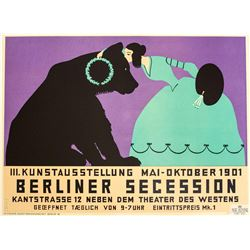 Berliner Secession Poster