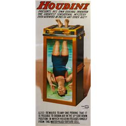 Houdini-Water Torture Cell Poster