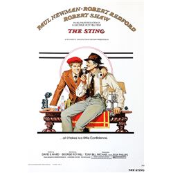 The Sting Hollywood Poster