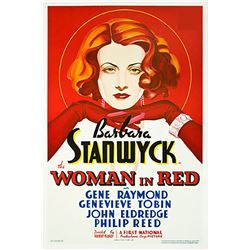 The Woman In Red Hollywood Poster