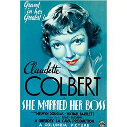 She Married Her Boss Hollywood Poster
