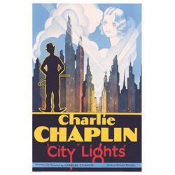 City Lights Hollywood Poster