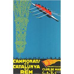 Campionats de Catalunya de Rem Sports Poster