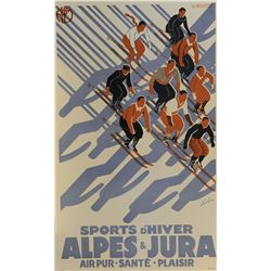 Sports D' Hiver Sports Poster
