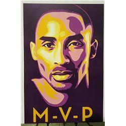 """MVP"" Kobe Bryant Sports Poster"
