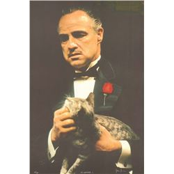 The Godfather I (The Godfather's Cat) Gangster Poster