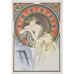 All the Works of Mucha, Alphonse Mucha