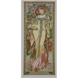 Autumne 1900, Alphonse Mucha